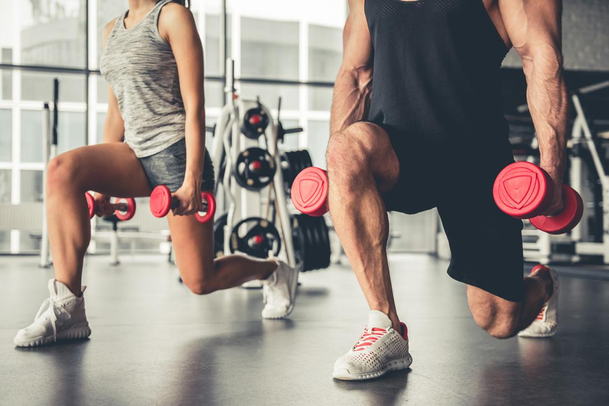 Cardio muscu au gym